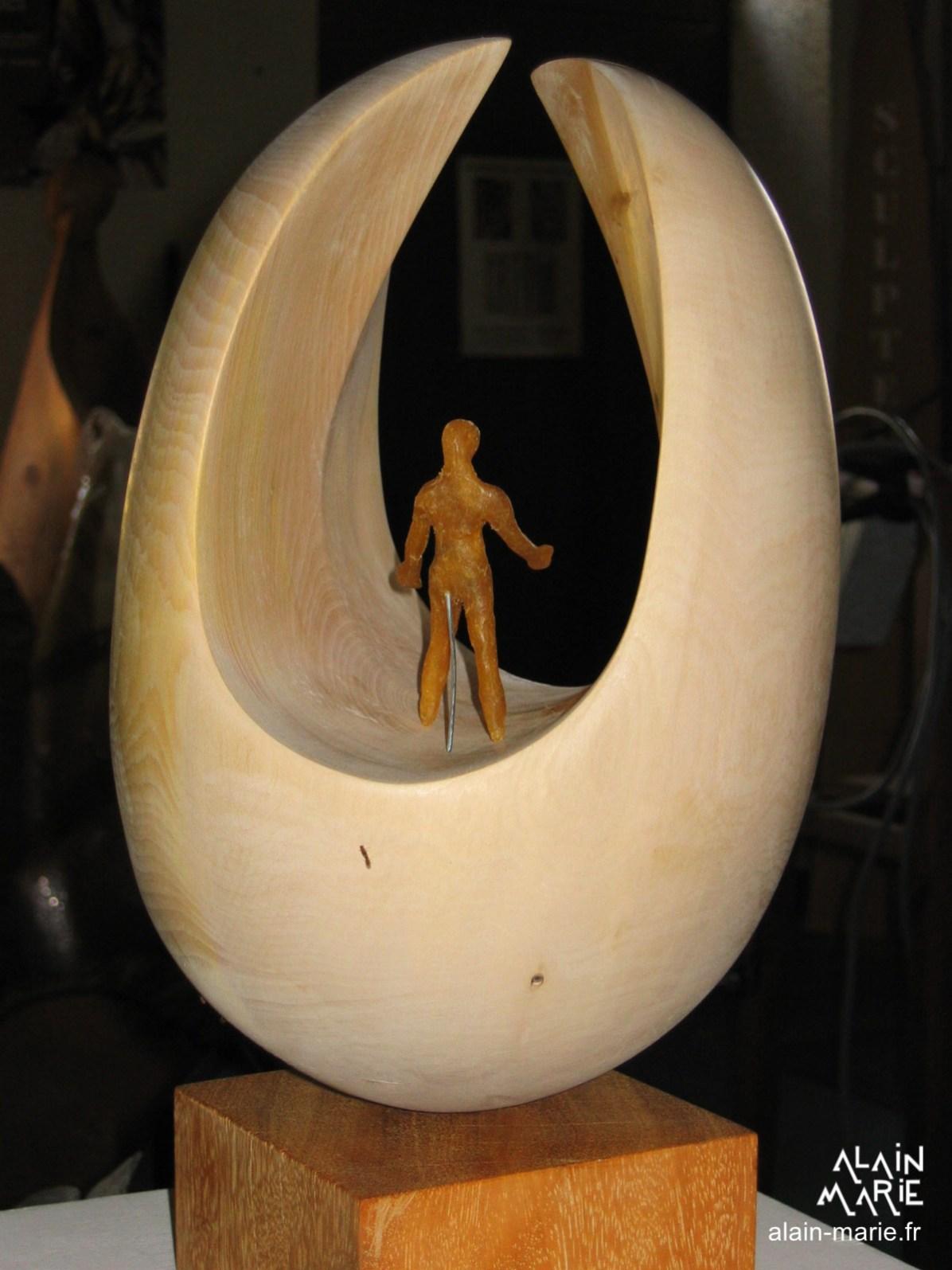 Trophée Partage, gingko biloba et bronze
