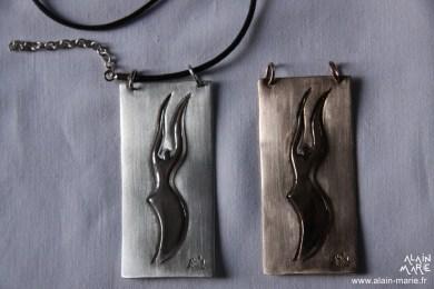 Ange, Ag 925 et Bronze