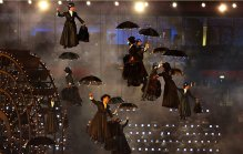 Many Poppins in the air! - Copyright © 2012 Chang W. Lee/The New York Times