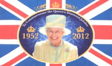 February - Queen Elizabeth II thrones for 60th year
