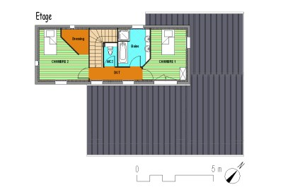 3- Plan étage