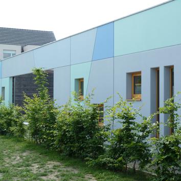 Extension-restructuration d'une école maternelle, Ostwald