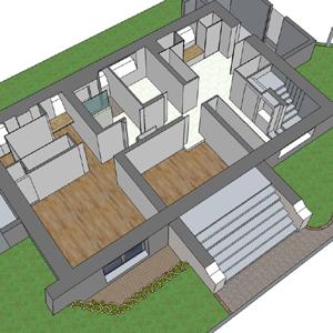 0- Rénovation partielle d'une villa, Belfort