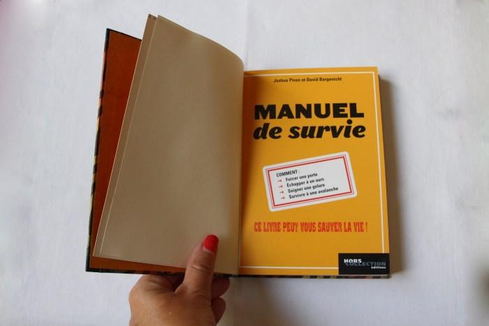 Livre ouvert - Manuel de survie - Le Dépassement