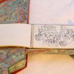 Livre Venise François Salvat - carnet de croquis