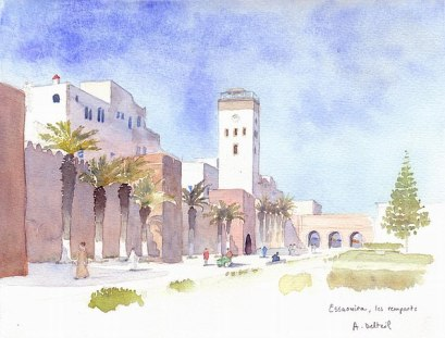 Essaouira, les remparts
