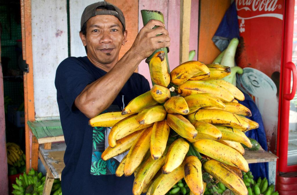 Ambon,Indonésie,Moluques,marché,portrait