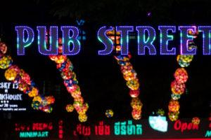 Pub Street à Siem Reap