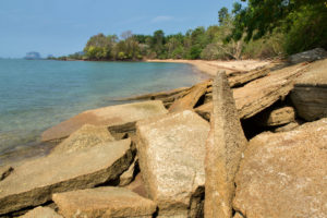 Fossil Beach et ses rochers si particuliers