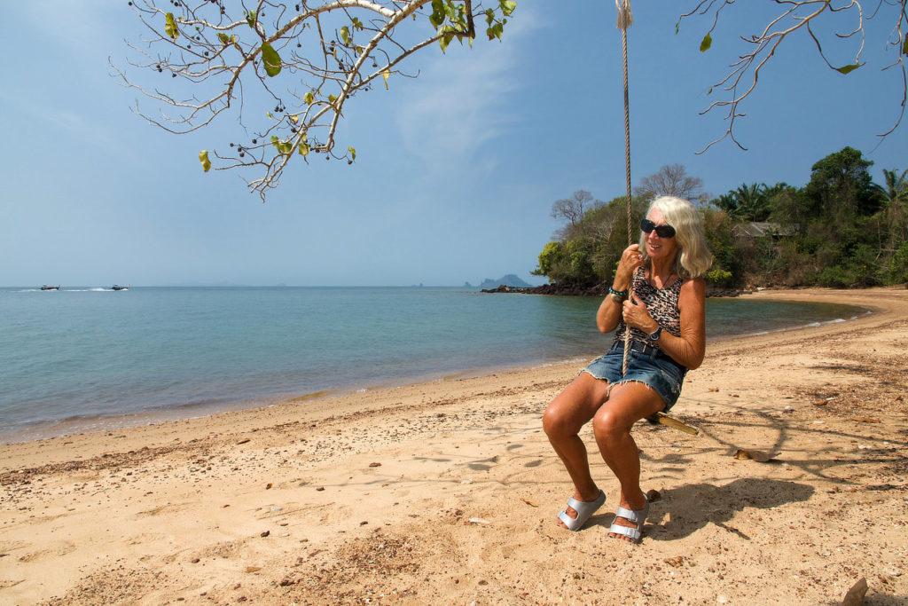 Chantal à Fossil Beach