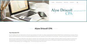 Alyse Drscoll CPA Website