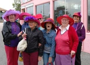 vieilles dames en goguette à Monterey