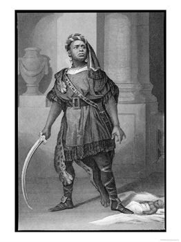 Aaron, de Titus Andronicus