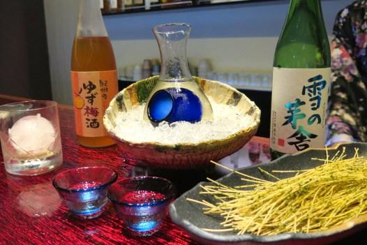 Shochu and Sake