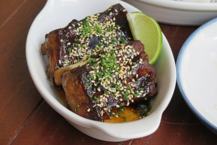 Pork Ribs, Cayenne Vinaigrette $14 / $24
