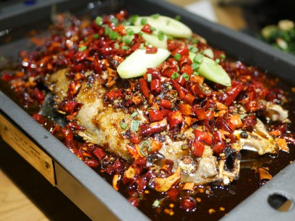 Grilled Sea Bass in Unique Sauce