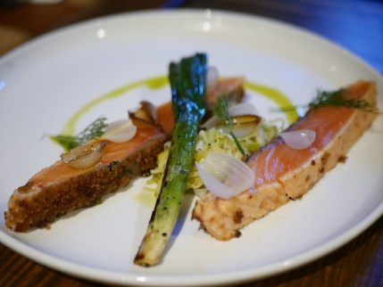 Cured Norwegian Salmon ($25)