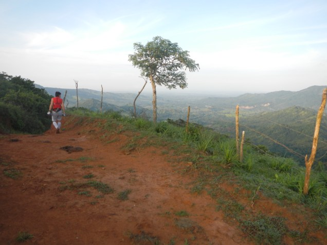 Arriba de las Montañuelas de Tapagra