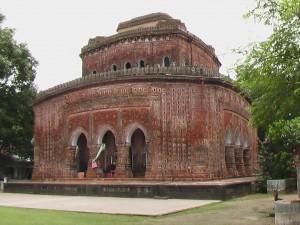 The hindu temple in Kantanagar