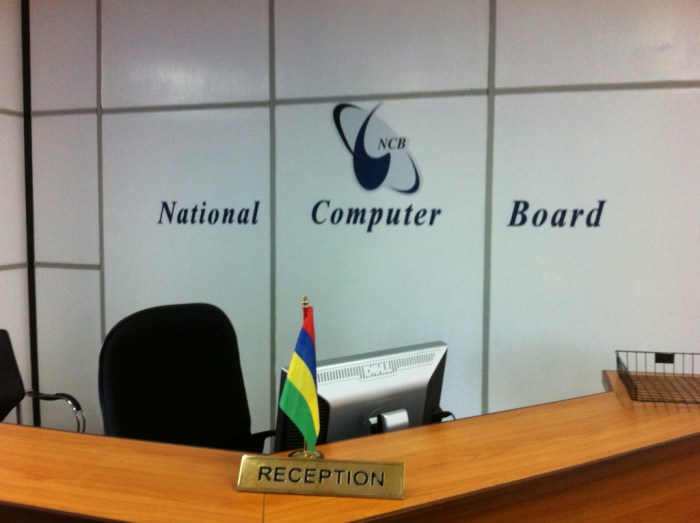 National Computer Board  reception