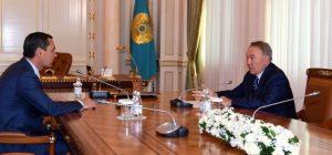 Бабанов Назарбаевге жолукту