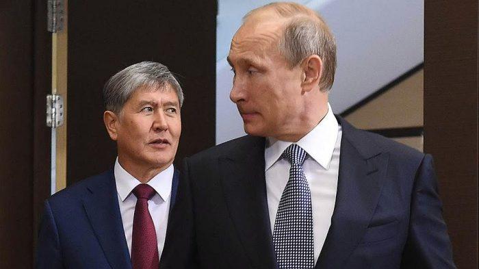 Путин менен Атамбаев эмнени сүйлөшө албай калды эле?