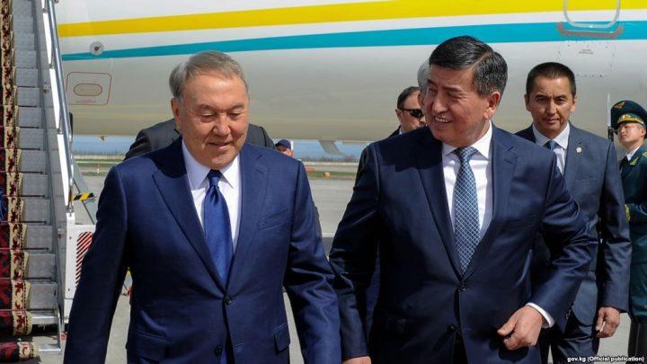 Назарбаев Жээнбековду куттуктады, демек, чек ара чечилет