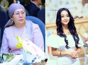 Жаңы президент Жээнбековдун жубайы менен кызы