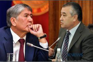 """Өмүрбек ТЕКЕБАЕВ: """"Атамбаевдин сүйлөгөн сөздөрү анын акылы ордунда эмес экендигинен шектенүү жаратат"""""""