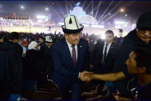 Сооронбай ЖЭЭНБЕКОВ: «Талас— кыргыз элинин биримдигинин, ынтымагынын, мамлекеттүүлүгүнүн символу!»
