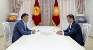 Жапаров Жээнбековго «экс-президент» макамын берди