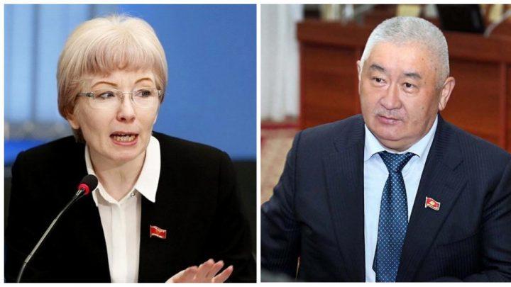РысалиевАкүйдү «Кыргызстан», «Мекеним Кыргызстан», «Биримдик» оңдосун десе, Строкова чырылдады…