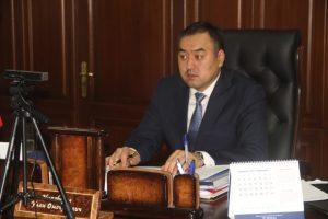 Улан Ниязбеков онлайн кеңешме өткөрдү. Министр милицияларга кандай тапшырма берди?