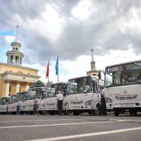 Бишкекте жаңы 50 автобус каттай баштады. Ал кайсы конушка каттайт?