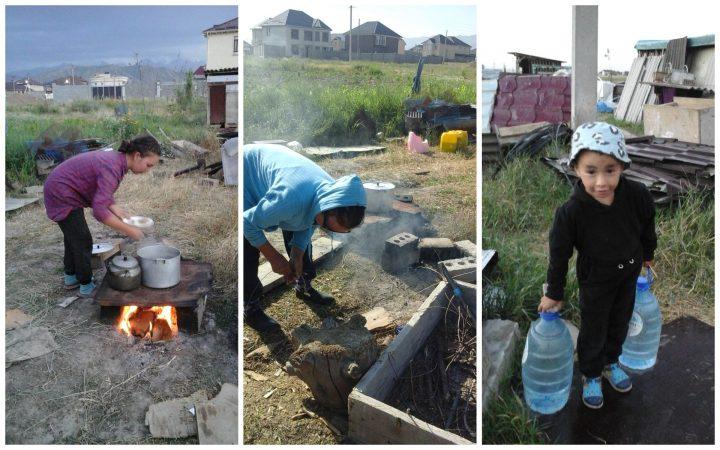 ВИДЕО — Талаада калган үй-бүлө президентке, кыргыз элине кайрылышты