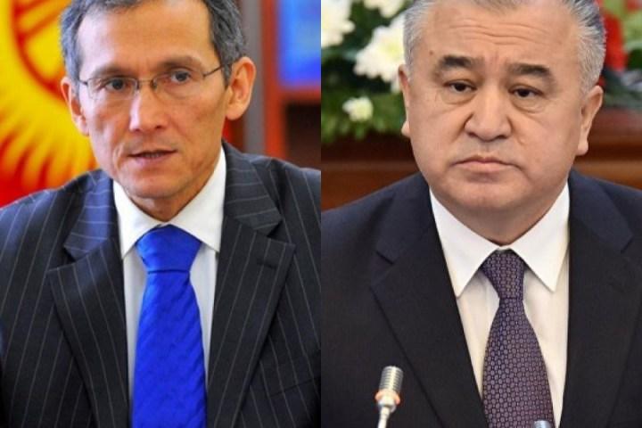 Экс-премьер-министр Жоомарт Оторбаевдин камалышы боюнча Өмүрбек Текебаев пикирин билдирди