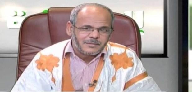 المستشار بالرئاسة الأستاذ الفقيه أحمد ولد النيني