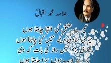 love poetry of allama iqbal