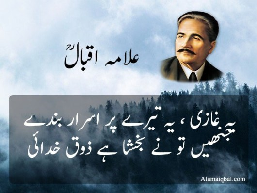 Poetry for Soldiers of Allama Iqbal