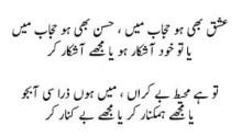 Gaisu-e-Tabdar Ko Aur Bhi Tabdar Kar