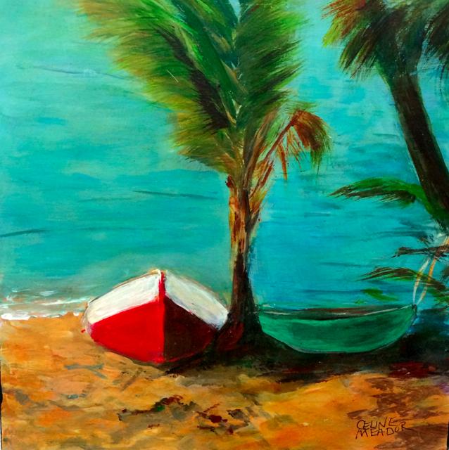 Celine Meader Red Boat