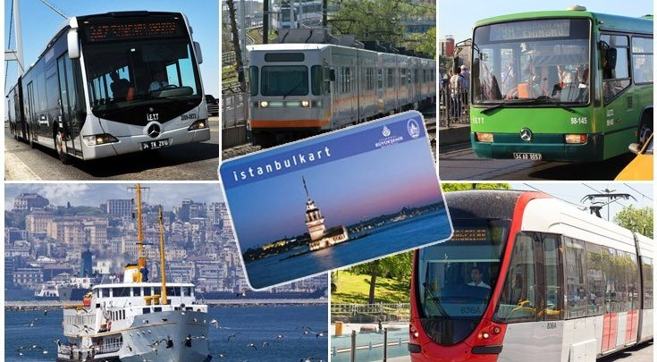 means of transport in Istanbul