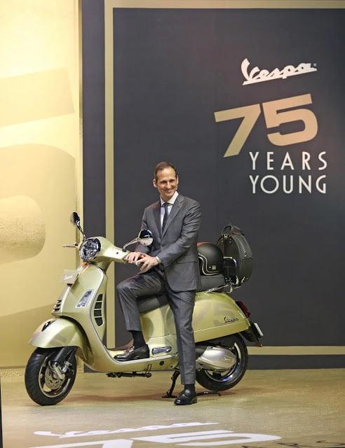 Vespa GTS 75th Anniversary