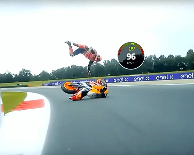 Marquez Terpelanting Keras di FP2, Espargaro Posisi 2 FP2 MotoGP Assen 2021