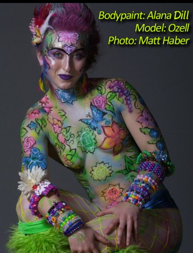 Face Painting by Alana Dill