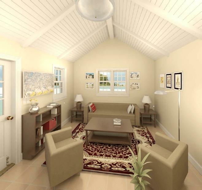 Fernside ADU Living Room