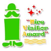 Nice Visitor Award