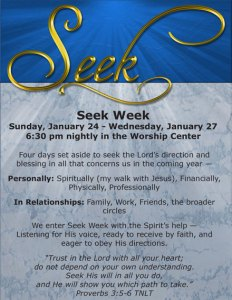 SeekWeek2016