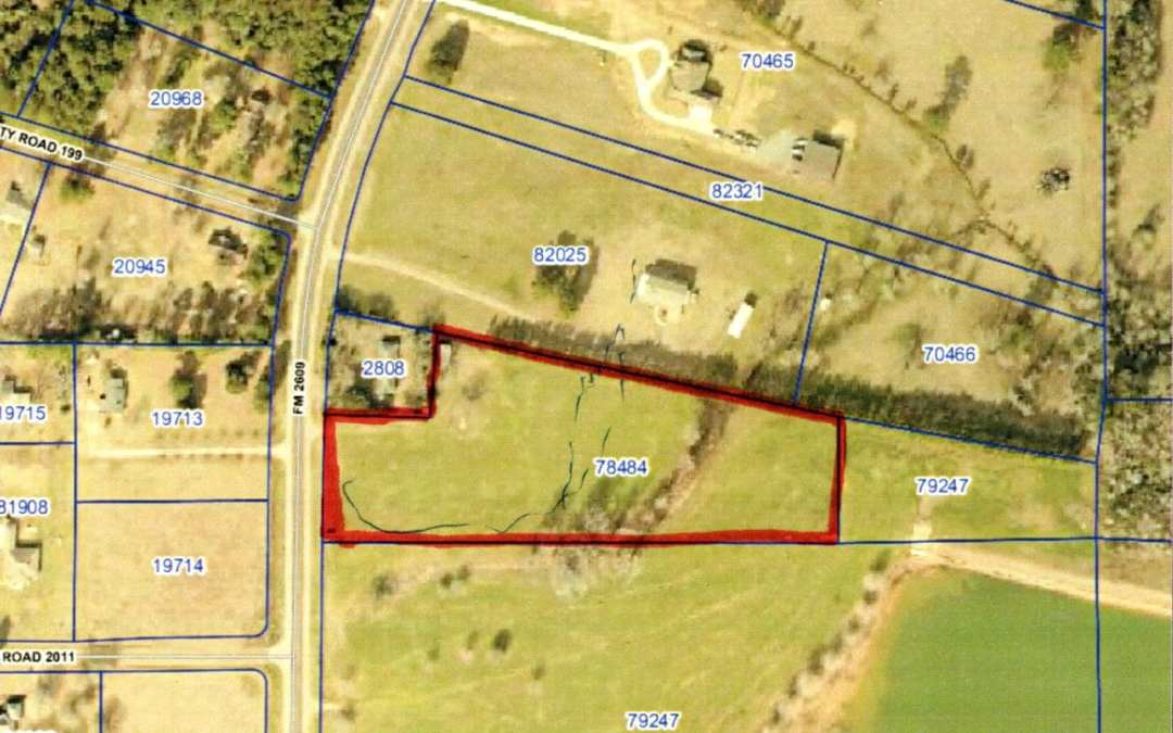 FM 2609 – 6.28 ACRES – $87,920 – MLS#2180395