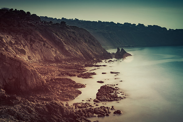 Dublin Bay long exposure, Howth, Ireland- Fine Art Print
